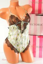 NWT Victoria's Secret Designer Collection Fantasy Island Teddy 100% Silk M Multi