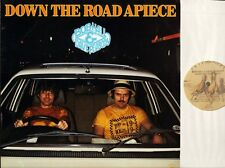BOB HALL AND DAVE PEABODY down the road apiece AP 025 italy 1981 LP PS EX/EX