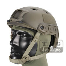 Emerson Tactical Fast Helmet BJ Type Bump Jump Advanced Adjustment w/ Side Rail