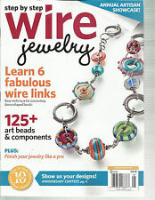 STEP BY STEP WIRE JEWELRY,  APRIL / MAY, 2014