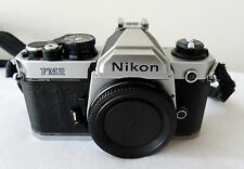 NIKON FM2 CAMERA BODY WORKING BUT SELL AS PART OR REPAIR!