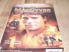 MacGyver - The Complete First Season (Dvd, 2005, 6-Disc Set) Brand New!