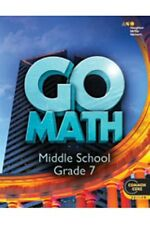 Grade 7 HMH Go Math Student Worktext Edition Common Core 7th