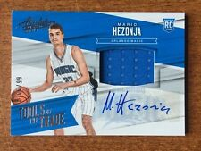 2015-16 Panini Absolute Tools Of The Trade Patch Auto RC Mario Hezonja #ED /99