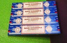 HERBAL EDH 24 x 15 GM Satya Sai Baba Nag Champa Original incense sticks FREEship