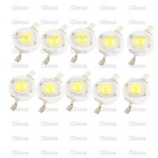10PCS 1W Pure White SMD LED Beads NEW