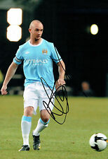 Stephen IRELAND Signed 12x8 Photo AFTAL COA Autograph Manchester City
