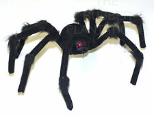 GIANT FURRY TARANTULA SPIDER HALLOWEEN PROP DECORATION PROP POSEABLE FANCY DRESS