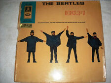 THE BEATLES HELP EXPORT GOLDEN ODEON STEREO 1ST GERMAN LP SMO  A1 B1