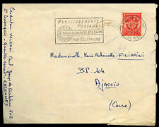 France 1957 Commercial Cover #C37964