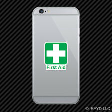 First Aid Cell Phone Sticker Mobile Die Cut