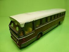 LION CAR 38 DAF SB 200 DO CITY BUS - RED GREY 1:50 - GOOD CONDITION