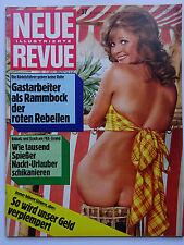 Neue Revue 37/1973, Heinz Rühmann, FKK Urlaub, Dr. Martin Cole, Johnny Carpenter
