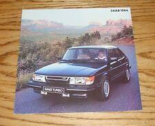 Original 1984 Saab Full Line Foldout Sales Brochure 84 900 900S Turbo