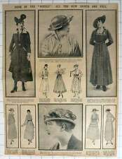 "1915 Doom Of The ""hobble"": All The New Skirts Are Full"