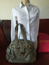 Authentique SAC A MAIN MARC JACOBS CUIR taupe