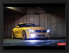 BMW Z4 HAMANA VOSSEN NEW A3 FRAMED PHOTOGRAPHIC PRINT POSTER
