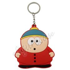 South Park Eric Theodore Cartman Double Side PVC Figure Pendant Key Ring Chain