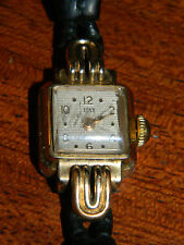 for parts OLD Watch ANCIEN MONTRE suisse PAT SWISS made uhr VINTAGE lurette OR