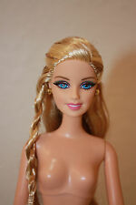Barbie Style Barbie Doll Articulated & Pivotal Body Rooted Lashes Nude