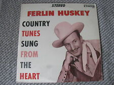 FERLIN HUSKEY Country Tunes Sung From The Heart KING Old Store Stock Lp SEALED