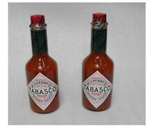 (2X) 12oz. McIlhenny Co. TABASCO SAUCE Classic Spicy Hot Louisiana Pepper Sauce