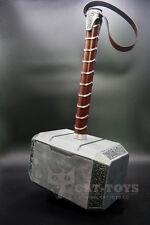 CATTOYS 1:1 Full Metal Avengers Thor Hammer 1:1 Replica Prop Mjolnir