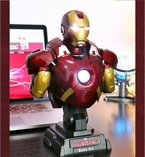 1/4 The Avengers Iron Man Mark MK7 irradiative Bust Statue Toy Figure New In Box