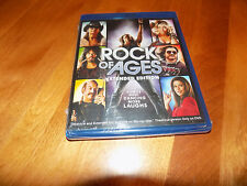 ROCK OF AGES EXTENDED EDITION & THEATRICAL BLU-RAY DISC SEALED COMEDY NEW