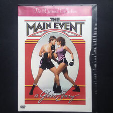 Barbra Streisand THE MAIN EVENT DVD 1979 Ryan O'Neal Howard Zieff Boxing R1 SpEd