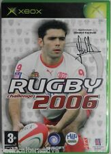 Jeu RUGBY CHALLENGE 2006 microsoft XBOX 1 game francais action sport yachvili