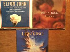 Elton John [3 CD MAXI] can you pelliccia the Love Tonight + Blessed + Candle vento