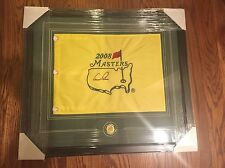 ARNOLD PALMER  Signed Masters Flag FRAMED  PSA DNA  Authenticated COA