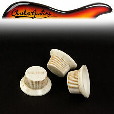 ART OF AGING SET OF PARCHMENT Lt SMALL  NUMBERS AGED STRAT STYLE KNOBS (AA31052)