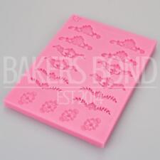 Mini multi floral en dentelle vintage gâteau décoration amour moule silicone fondant craft