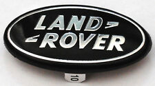 LAND ROVER STEERING WHEEL BADGE DISCOVERY FREELANDER BLACK EMBLEM LOGO