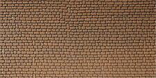 Faller HO 170611 Mauerplatte Sandstein rot 250 x 125 mm Neu