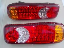 2x 24V Rear Tail Lights LED fit Truck Lorry MITSUBISHI RENAULT PEUGEOT FORD