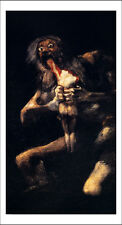 "Francisco Goya: Saturn Devouring His Sons, 6x4"" Poster"