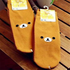 Cartoon Rilakkuma San-X Relax Bear Cotton Soft Socks 23-25cm 1 Pair♫
