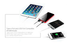 NEW ARRIVAL USB type C external charger, USB-C and USB PowerBank, Portable