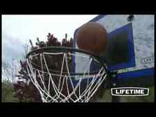 "Lifetime 1221 Pro Court Height Adjustable Portable Basketball System, 44"" Back"