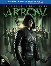 ARROW: THE COMPLETE SECOND SEASON 2 2ND 9-Disc Set Blu-ray + DVD Stephen Amell