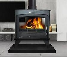 16KW BIADESIVO MultiFuel STOVE Flat Top nuovo Woodburning Fire Log Bruciatore 16KW