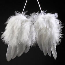 Lovely Baby's Kids White Angel Wings Feather for Party Decoration And for Photo