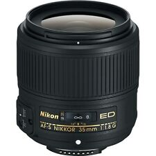 Brand New Nikon AF-S NIKKOR 35mm f/1.8G ED Lens for Nikon Digital SLR Cameras