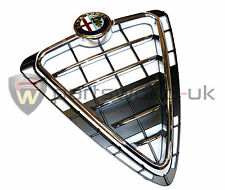 Alfa Romeo Giulietta Chrome Effect Front Grille & badge Brand New Genuine