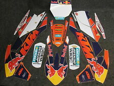 KTM SX/SXF 125-450 2016-2017 Factory Team USA graphics + plastic kit GR1304