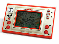 Nintendo Game & Watch Wide Screen Mickey Mouse MC-25 MIJ 1981 As-is Condition