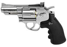 Dan Wesson 2.5 CO2 Pellet Revolver Silver - 0.177 cal - Realistic Revolver 6rd S